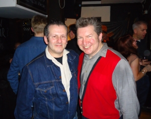 George Fox and DJ Martin Heaphy