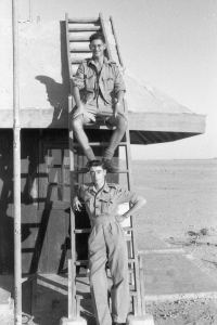 Trained Wireless Mechs - RAF Shaibah, Iraq 1954