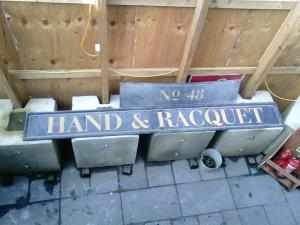 20151008 Hand & Racquet Sign